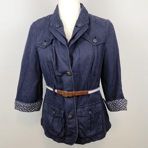 Anthro Daughters of the Liberation navy jacket